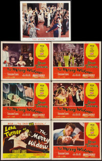 """The Merry Widow (MGM, 1952). Title Lobby Card and Lobby Cards (5) (11"""" X 14"""") and Deluxe Lobby Card (1) (11&qu..."""