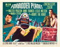 """Movie Posters:Science Fiction, Forbidden Planet (MGM, 1956). Half Sheet (22"""" X 28"""") Style A.. ..."""
