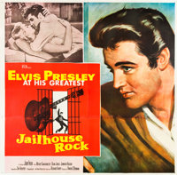 "Jailhouse Rock (MGM, 1957). Six Sheet (81"" X 81"")"