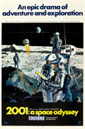 "Movie Posters:Science Fiction, 2001: A Space Odyssey (MGM, 1968). Cinerama One Sheet (27"" X 41"")Style B.. ..."