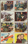 "Movie Posters:War, Battleground (MGM, 1949). Lobby Card Set of 8 (11"" X 14""). War..... (Total: 8 Items)"