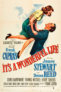 "It's a Wonderful Life (RKO, 1946). One Sheet (27"" X 41"")"