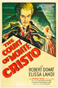 "Movie Posters:Adventure, The Count of Monte Cristo (United Artists, 1934). One Sheet (27"" X41"").. ..."