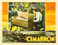 "Movie Posters:Western, Cimarron (RKO, 1931). Lobby Card (11"" X 14"").. ..."