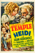 "Movie Posters:Drama, Heidi (20th Century Fox, 1937). One Sheet (27"" X 41"") Style A.. ..."