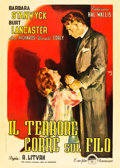 """Movie Posters:Film Noir, Sorry, Wrong Number (Paramount, 1949). Italian 2 - Foglio (39"""" X55"""").. ..."""