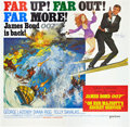"Movie Posters:James Bond, On Her Majesty's Secret Service (United Artists, 1970). AutographedSix Sheet (81"" X 81"").. ..."