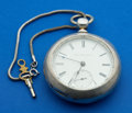 Timepieces:Pocket (pre 1900) , Elgin Four Once Coin Key Wind. ...