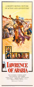 "Movie Posters:Academy Award Winners, Lawrence of Arabia (Columbia, 1962). Insert (14"" X 36"").. ..."