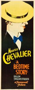 """Movie Posters:Musical, A Bedtime Story (Paramount, 1933). Insert (14"""" X 36"""").. ..."""