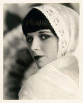 "Movie Posters:Photo, Louise Brooks in Now We're in the Air by Eugene Robert Richee(Paramount, 1927). Portrait Photo (8"" X 10"").. ..."