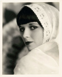 """Louise Brooks in Now We're in the Air by Eugene Robert Richee (Paramount, 1927). Portrait Photo (8"""" X 10"""")..."""