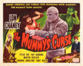 "Movie Posters:Horror, The Mummy's Curse (Realart, R-1951). Half Sheet (22"" X 28"").. ..."
