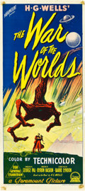 "Movie Posters:Science Fiction, The War of the Worlds (Paramount, 1953). Australian Daybill (13"" X30"").. ..."