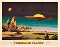 "Movie Posters:Science Fiction, Forbidden Planet (MGM, 1956). Lobby Card (11"" X 14"").. ..."