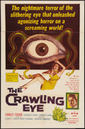 "Movie Posters:Science Fiction, The Crawling Eye (DCA, 1958). One Sheet (27"" X 41""). ScienceFiction.. ..."
