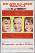 """Movie Posters:Comedy, The Great Race (Warner Brothers, 1965). One Sheet (27"""" X 41""""). Comedy.. ..."""