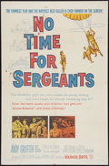 "Movie Posters:Comedy, No Time for Sergeants (Warner Brothers, 1958). One Sheet (27"" X41""). Comedy.. ..."