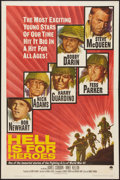 "Movie Posters:War, Hell Is for Heroes & Other Lot (Paramount, 1962). One Sheet(27"" X 41"") & Half Sheet (22"" X 28""). War.. ... (Total: 2Items)"