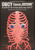 "Movie Posters:Science Fiction, Alien (20th Century Fox, 1979). Polish One Sheet (26"" X 37.5"").Science Fiction.. ..."