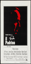 "Movie Posters:Crime, The Godfather (Paramount, 1972). Italian Locandina (13"" X 27.5"").Crime.. ..."