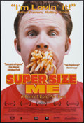 "Movie Posters:Documentary, Super Size Me (Samuel Goldwyn, 2004). One Sheet (27"" X 40"") DS. Documentary.. ..."