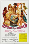 """Movie Posters:Adult, Around the World with John 'The Wadd' Holmes (Art-Mart, 1975). One Sheet (27"""" X 41""""). Adult.. ..."""