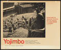 "Movie Posters:Action, Yojimbo (Seneca International, 1961). Lobby Card (11"" X 14"").Action.. ..."
