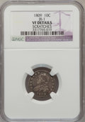 Bust Dimes: , 1809 10C --Scratched-- NGC Details. VF. JR-1. NGC Census: (1/30).PCGS Population (5/41). Mintage: 51,065. Numismedia Wsl. ...