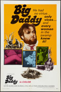 "Movie Posters:Exploitation, Big Daddy (United Film Distribution, 1969). One Sheet (27"" X 41"").Exploitation.. ..."
