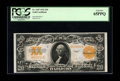 Large Size:Gold Certificates, Fr. 1187 $20 1922 Gold Certificate PCGS Gem New 65PPQ. This is thefirst of four consecutive $20 Gold notes that are being s...
