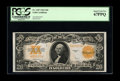 Large Size:Gold Certificates, Fr. 1187 $20 1922 Gold Certificate PCGS Superb Gem New 67PPQ. Thethird of the group. This and the next note are simply spec...