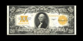 Large Size:Gold Certificates, Fr. 1187 $20 1922 Gold Certificate About New. Deep golden orange color is noted on the overprint and back design. With a tig...