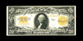 Large Size:Gold Certificates, Fr. 1187 $20 1922 Gold Certificate Very Fine. Dark orange ink is found on both sides of this nicely margined $20 Gold....