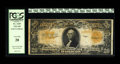 Large Size:Gold Certificates, Fr. 1187 $20 1922 Gold Certificate Star Note PCGS Very Fine 20. While not a particularly scarce Star Note, the number of pie...