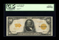 Large Size:Gold Certificates, Fr. 1199 $50 1913 Gold Certificate PCGS Very Fine 35PPQ. Rich colors and plenty of original embossing can be seen on this be...