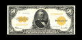 Large Size:Gold Certificates, Fr. 1200 $50 1922 Gold Certificate Extremely Fine. The paper quality on this note appears original and we see no reason to t...