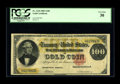Large Size:Gold Certificates, Fr. 1210 $100 1882 Gold Certificate PCGS Very Fine 30. This is one of only 20 collectible examples of this type. The back re...