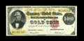 Large Size:Gold Certificates, Fr. 1214 $100 1882 Gold Certificate Very Fine. This piece first appeared on the market in 1981 as part of an Aubrey Bebee pr...