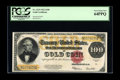 Large Size:Gold Certificates, Fr. 1215 $100 1922 Gold Certificate PCGS Very Choice New 64PPQ. Abrilliant and flashy example of the final Large Size $100 ...