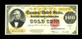 Large Size:Gold Certificates, Fr. 1215 $100 1922 Gold Certificate Extremely Fine. A detailedexamination of this note does not immediately reveal the fold...