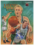"Basketball Collectibles:Others, Larry Bird Signed ""Legends of Sports Memorabilia"" Magazine. WhenLarry Bird came to the NBA, he gave the ailing Boston Celt..."