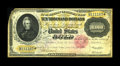 Large Size:Gold Certificates, Fr. 1225 $10000 1900 Gold Certificate Fine-Very Fine. No mistakingthis example is from the fire hoard as the edges and top ...
