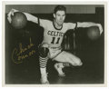 "Autographs:Photos, Chuck Connors Signed Photograph. After his military discharge in1946, ""The Rifleman"" star Chuck Connors briefly played wit..."