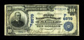 Globe, AZ - $10 1902 Date Back Fr. 620 The First NB Ch. # (P)6579 Large notes only from this bank, where the census now...