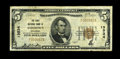 Ashdown, AR - $5 1929 Ty. 1 The First NB Ch. # 13534 A very scarce bank with a census population of just five pieces, i...