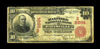 Batesville, AR - $10 1902 Red Seal Fr. 615 The Maxfield NB Ch. # (S)8864 The first of the great rarities to be offered...