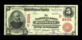 Batesville, AR - $5 1902 Red Seal Fr. 589 The NB of Batesville Ch. # (S)8864 Three notes are known with this title, one...