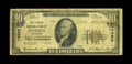 National Bank Notes:Arkansas, Camden, AR - $10 1929 Ty. 2 The Citizens NB Ch. # 14096. A very scarce 14000 charter bank, with the Gengerke records di...
