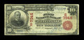 National Bank Notes:Arkansas, Fayetteville, AR - $10 1902 Red Seal Fr. 613 The First NB Ch. # (S)7346. This is one of only about two dozen Red Seals k...